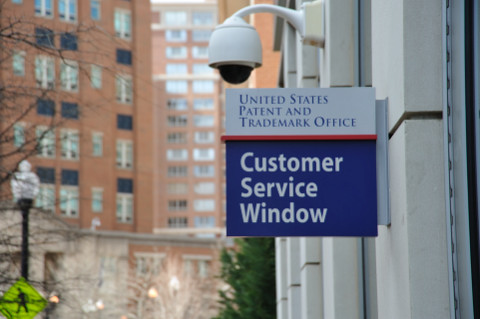 USPTO customer service window