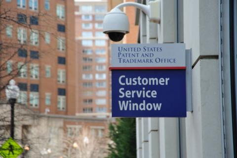 USPTO customer service window