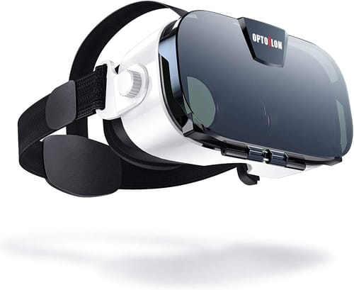OPTOSLON 3D VR Glasses for Mobile Games and Movies