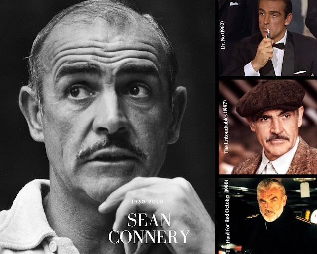 Morreu Sean Connery (1920-2020)