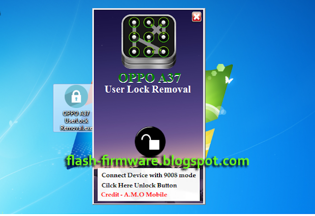 OPPO A37 UserLock Removal Tool 100% Tested Without Password - Rumah