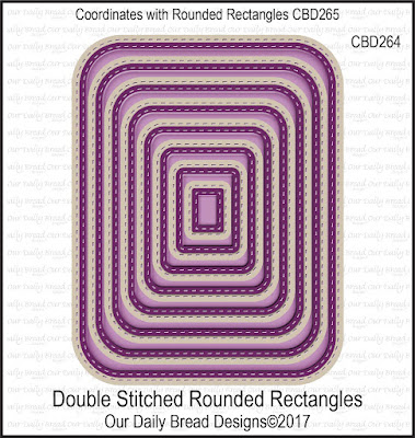 Custom Dies: Double Stitched Rounded Rectangles