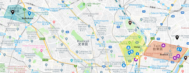 visitas del día 7 en Tokio