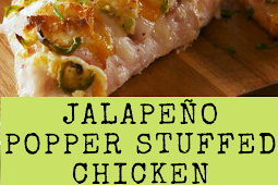 Jalapeño Popper Stuffed Chicken