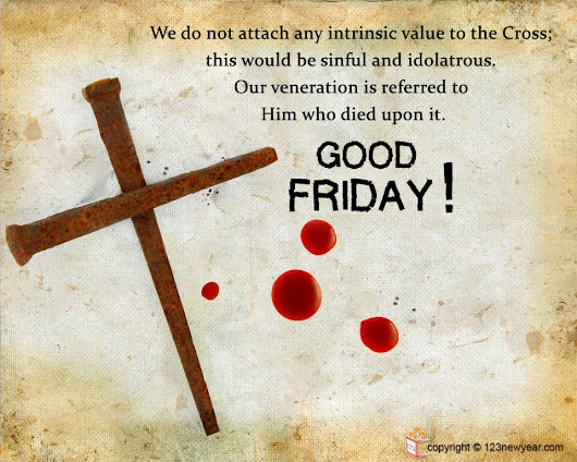 {Best *} Good Friday Greetings Wallpapers 2015