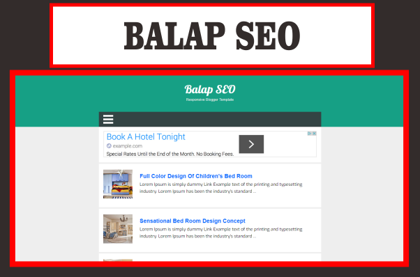 Balap SEO Blogger Template Simple Free Download - nyotemplate ...