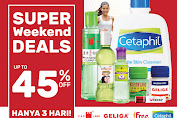 Promo Guardian Weekend Super Deals 3 - 5 April 2020