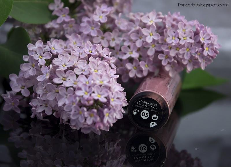 Golden Rose Liquid Matte Lipstick LONGSTAY #03