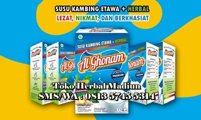 Jual Al Ghonam Susu Kambing Etawa Plus Herbal PREMIUM di Madiun