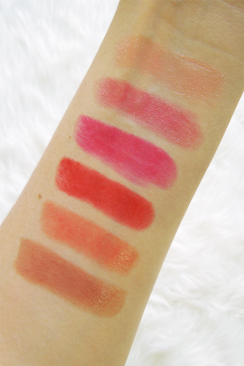 Rimmel Moisture Renew Sheer & Shine Lipsticks Review