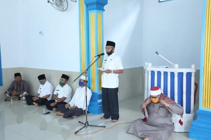 Bupati Safari Ramadhan di Masjid Al-Falah Kecamatan Pulau Rakyat
