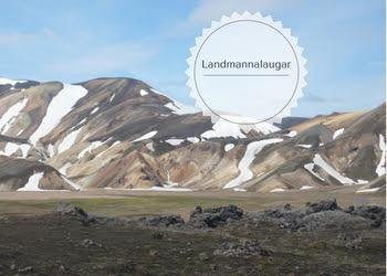 trekking al Landmannalaugar in islanda