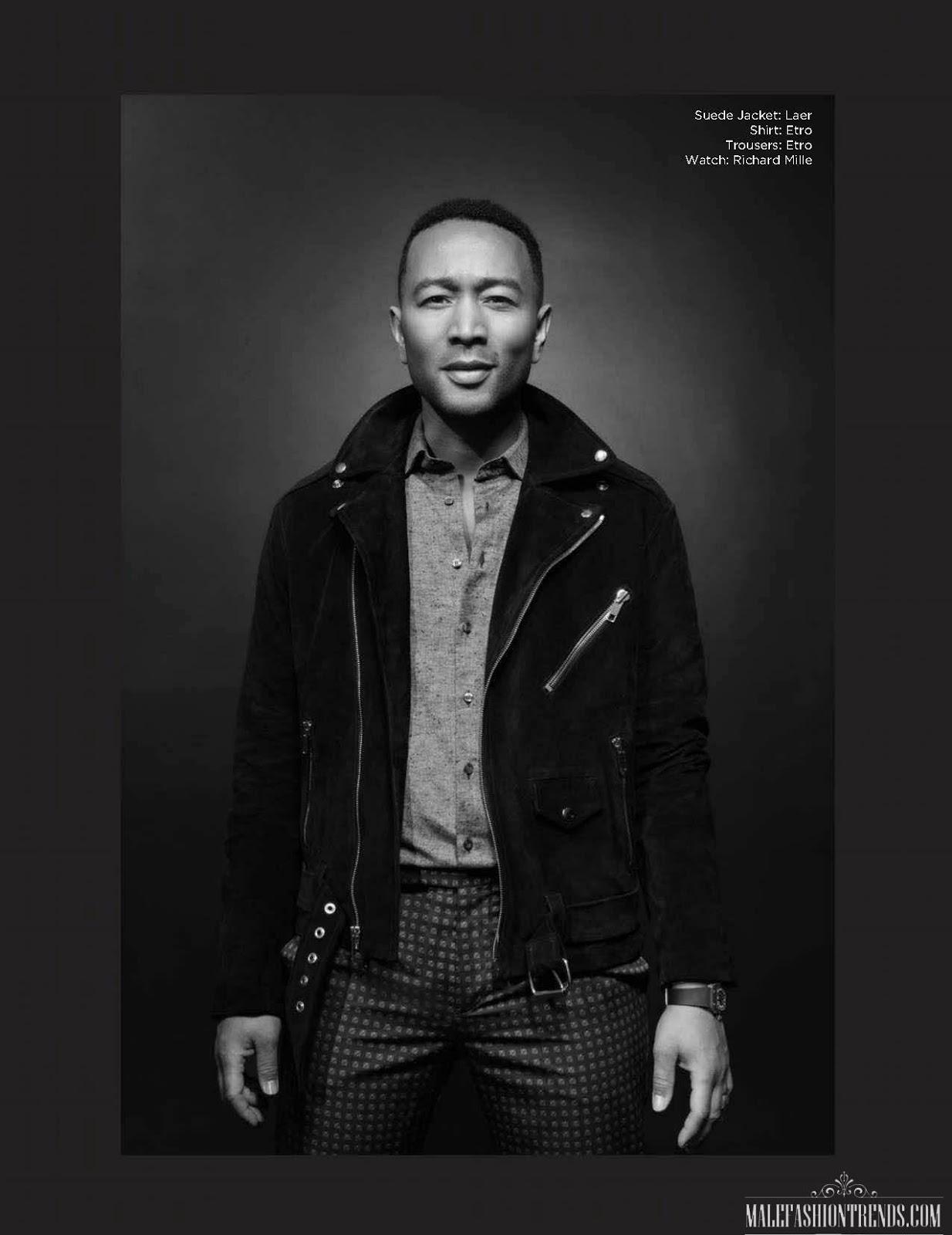 John Legend por Lionel Deluy para FAULT Magazine