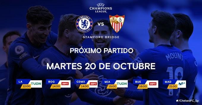 Chelsea Vs Sevilla FC En TV Cu U00e1ndo Y D U00f3nde Ver El Partido