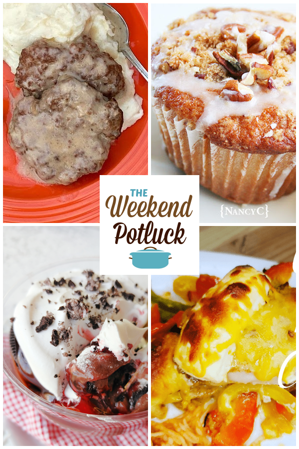 A virtual recipe swap with Slow Cooker Salisbury Steak, Coffee Cake Muffins, Black Forest Oreo Dessert, Cheesy Pepper Chicken and dozens more!