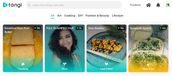 Google Launches Tangi a Short Form Video App to take on TikTok