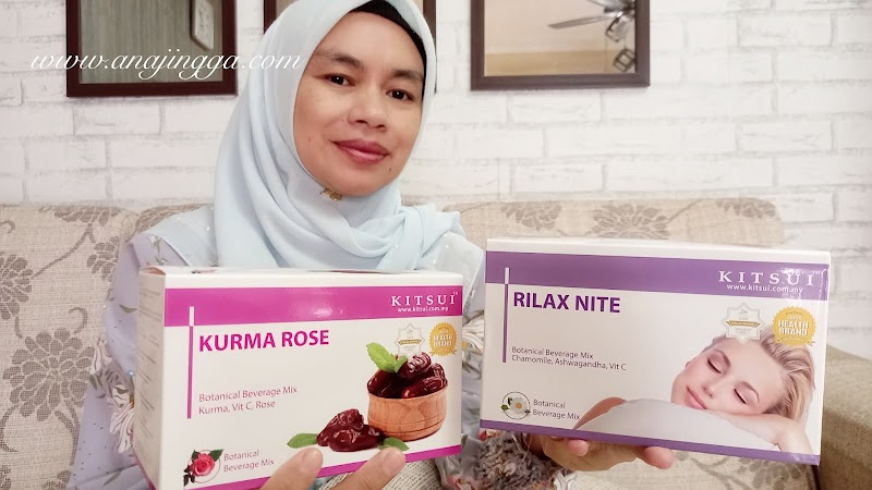 Tips dapatkan tidur lena dan kembali berseri dengan Kitsui Rilax Nite & Kitsui Kurma Rose