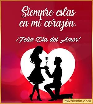 Imágenes con Frases Lindas para el Día de los Enamorados
