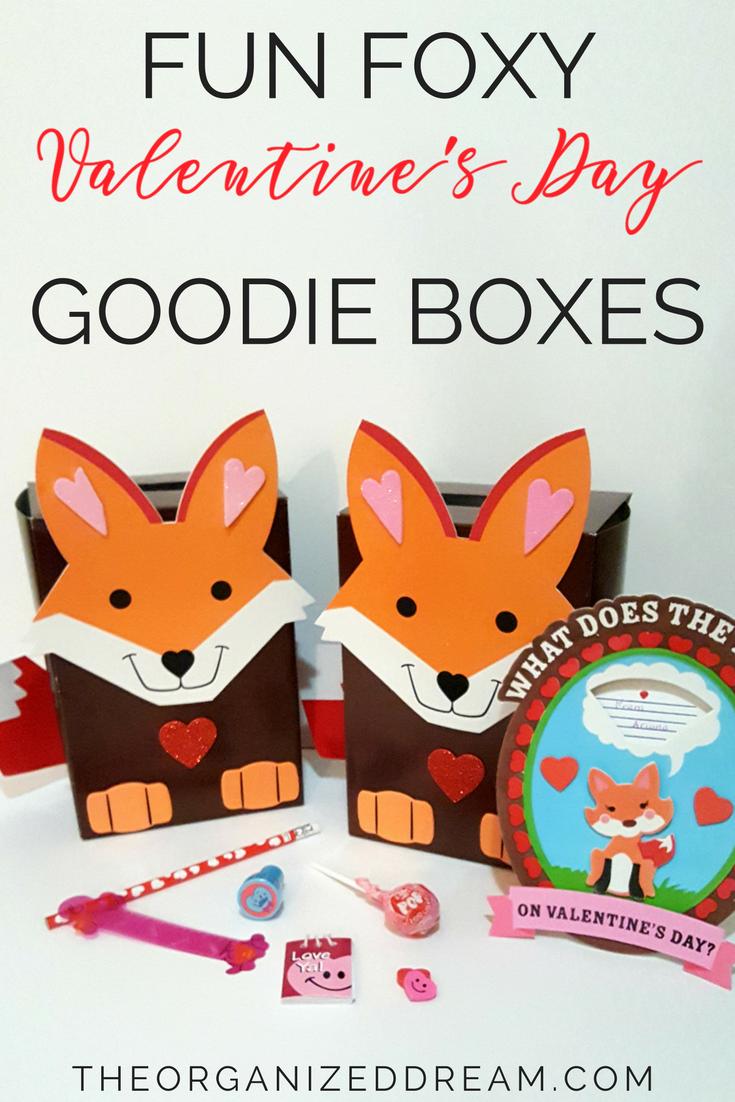 Fun Foxy Valentine's Day Goodie Bags | Kids Crafts | Valentine Ideas | DIY | Gift Ideas