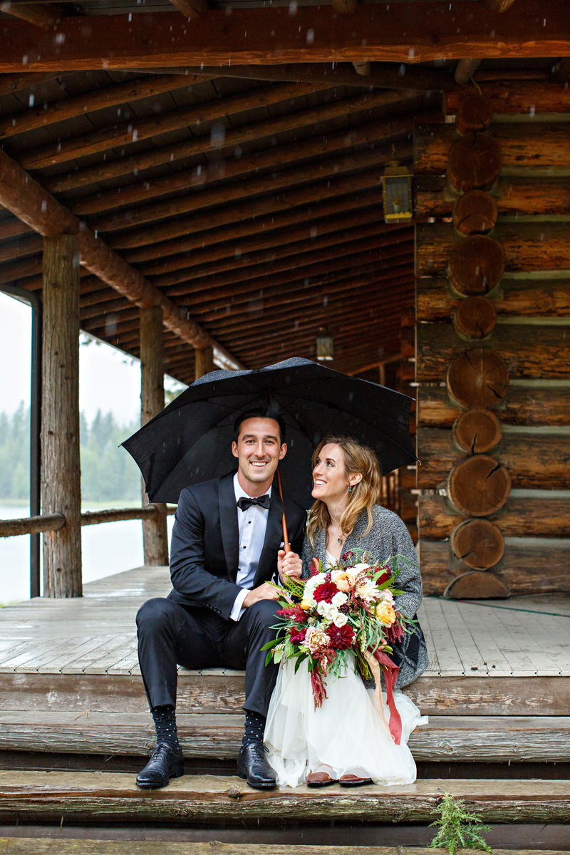 Bigfork Montana Wedding / Photography: Brooke Peterson Photography / Wedding Coordinator: Courtney of 114-West / Venue: Kootenai Lodge / Bride's Bouquet: Mum's Flowers / Bride's Gown: J.Crew / Groom's Tux: J.Crew / Makeup Artist: Britlee of Envy Salon & Spa