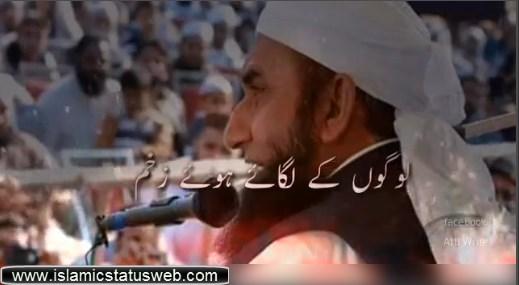 Molana Tariq Jameel Heart Touching Status - Islamic Status Video