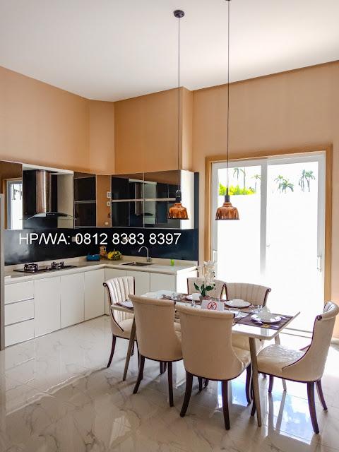 Ruang Makan Rumah Mewah Termurah Siap Huni Villa Casa Royale Di Kompleks Royal Sumatera Medan Sumatera Utara