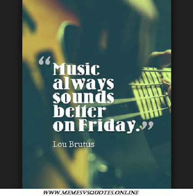 Friday sounds better