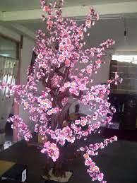 Hiasan Bunga Sakura Kami Melayani Jual Dinding Rumah Plastik Di