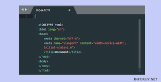 Deklarasikan Dokumen HTML