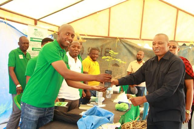 SHIRIKA LA TREES FOR THE FUTURE TANZANIA LAPANDA MITI MILIONI 8 SINGIDA