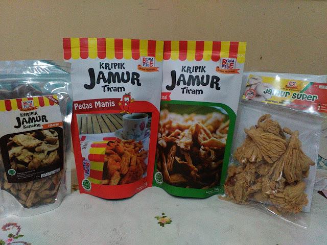Keripik Jamur Bonafide Kota Malang: Oleh-Oleh Crunchy dari Kota Malang