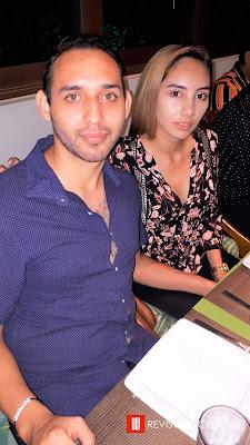 Jorge Ross y Andrea Méndez.