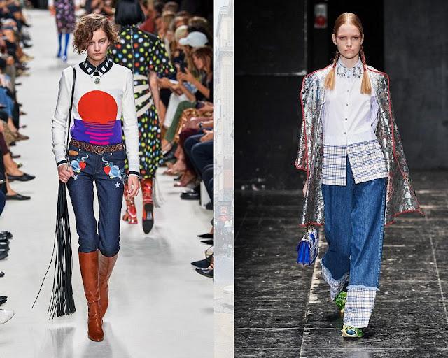 Модные джинсы весна-лето 2020 11-1