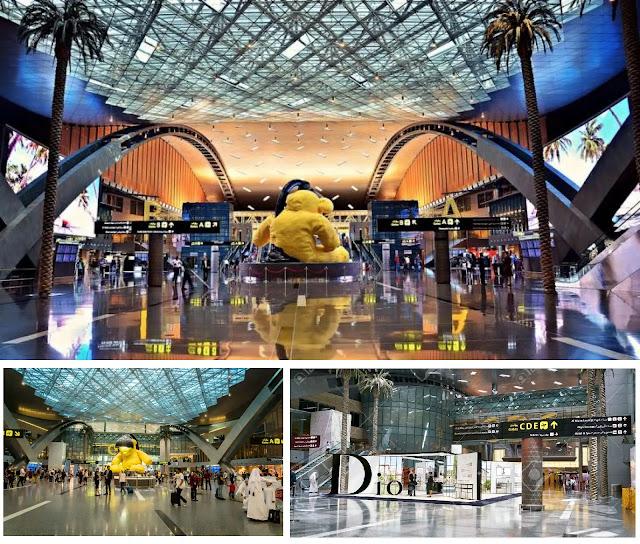Doha International Airport , Qatar