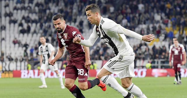 يوفنتوس يفوز علي تورينو في ديربي تورينو بهدف نظيف في الدوري الايطالي