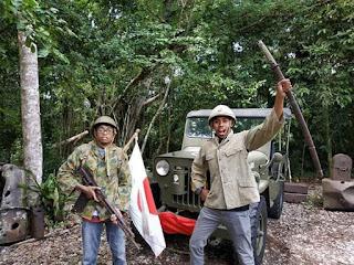 Peninggalan perang dunia ke II (Jepang dan Amerika) di obyek Wisata Goa Jepang Binsari Biak