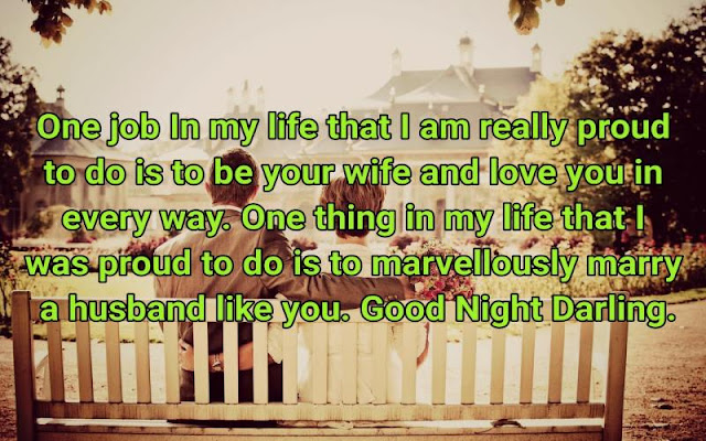 Good Night Quotes for husband