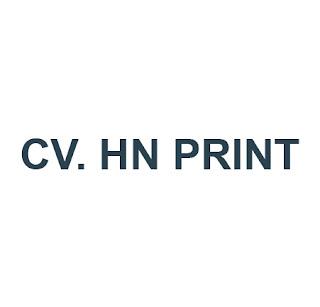 CV. HN PRINT