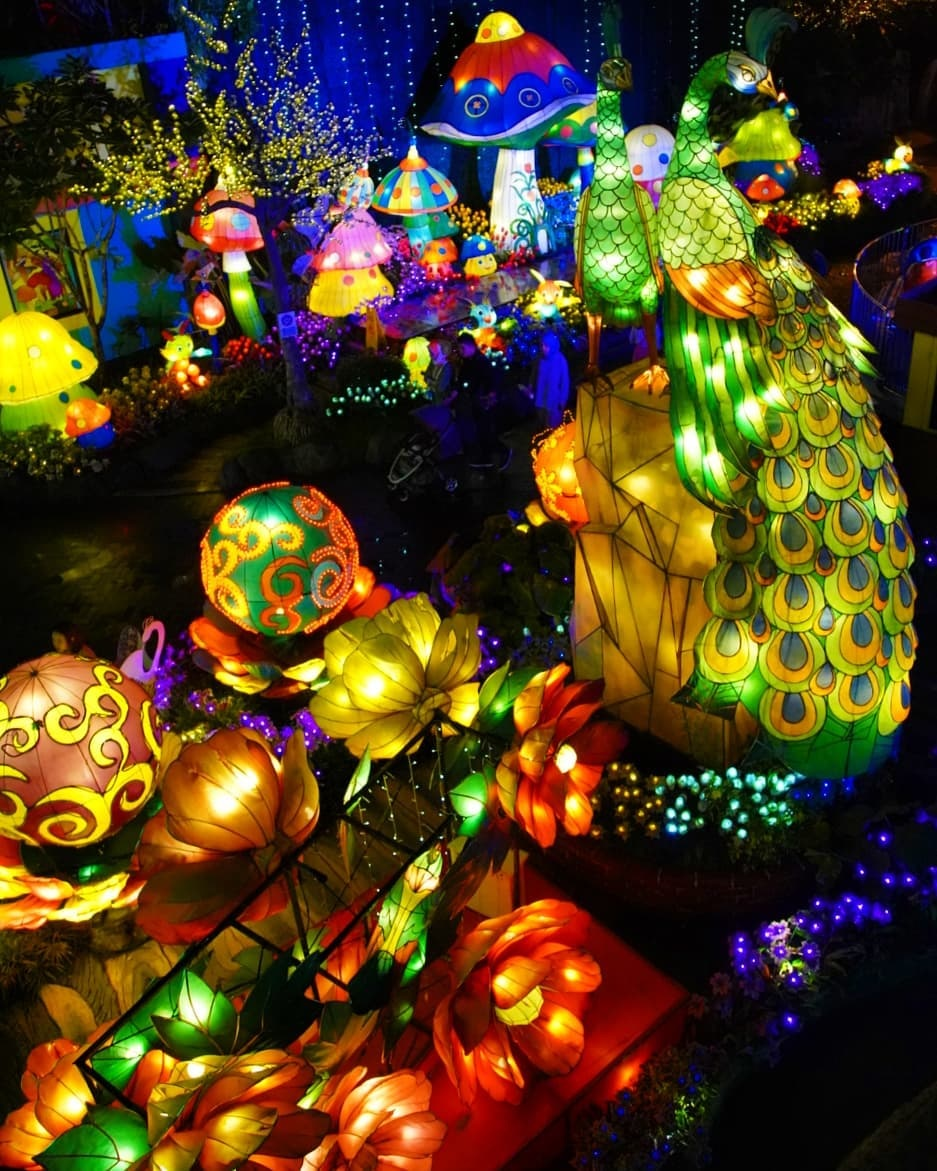 Taman Lampion Malang Night Paradise