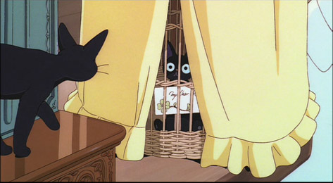 first delivery stuffed cat Kiki's Delivery Service 1989 animatedfilmreviews.filminspector.com