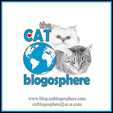 We're Cat Blogosphere members!