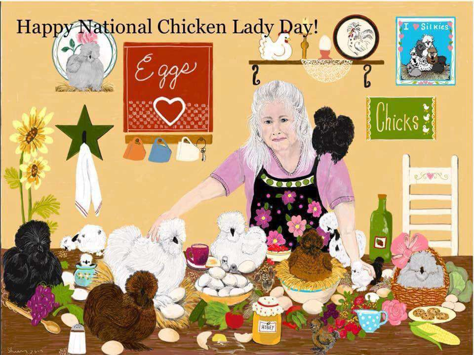 National Chicken Lady Day Wishes For Facebook