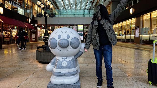 仙台駅 アンパンマン像