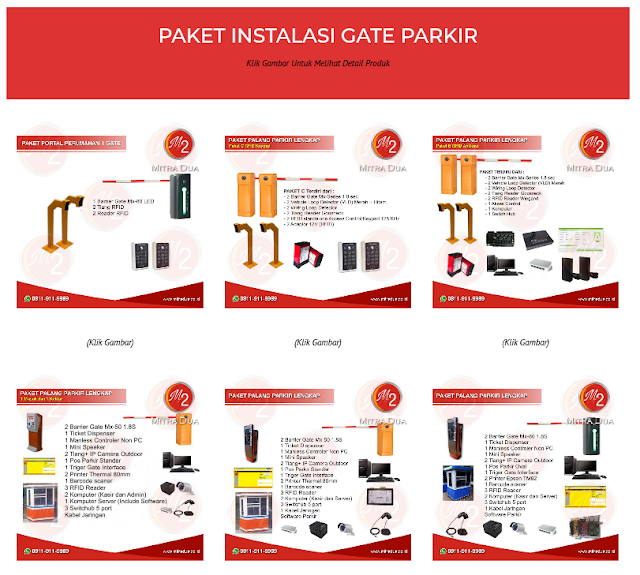 Paket Portal Parkir