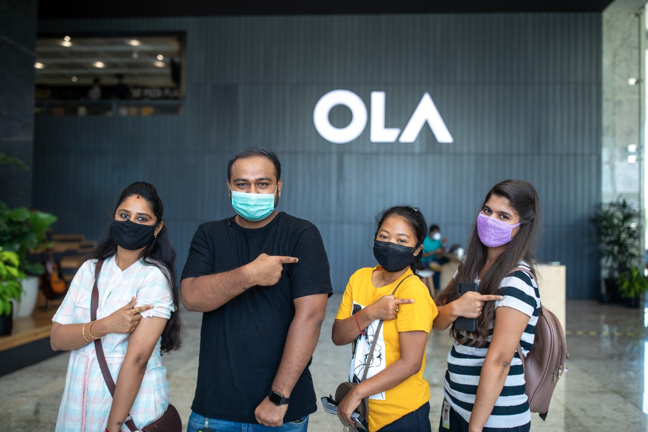 Ola completes vaccination for over 50% of its employees and their dependents