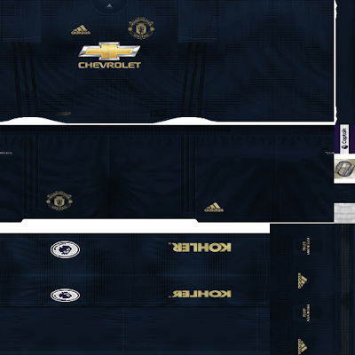 PES 6 Kits Manchester United Season 2018/2019 by FacaA/Ngel