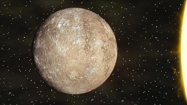 Mercurio pudo tener condiciones para albergar vida