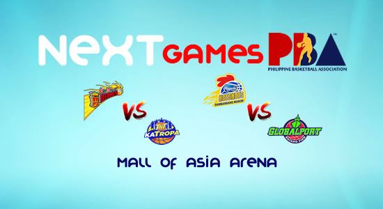 List of PBA Games: March 6 at MOA Arena 2017-2018 PBA Philippine Cup