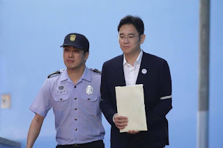 Lee Jae-yong, the Empire of Samsung  sentenced to five years in prison