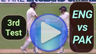 ENG vs PAK 3rd Test 2020